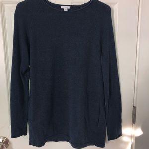 J. Jill navy blue sweater